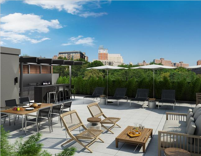 88 Morningside Avenue - Harlem - Manhattan Luxury Condo - Rooftop