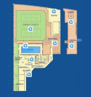 1 River Place Amenities - Manhattan Apartments for rent