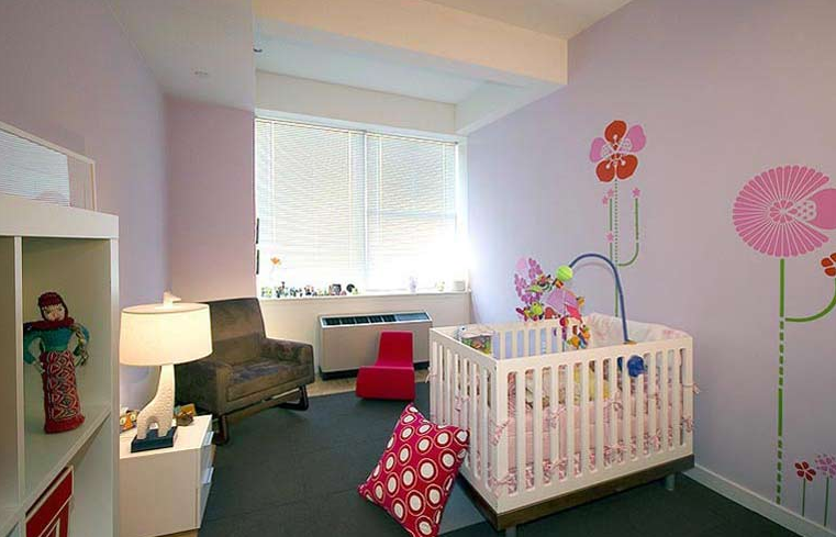 Children Bedroom view of Rental Apartments at 50 Murray Street
