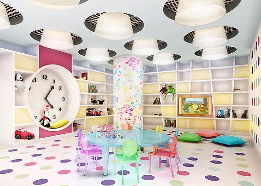 The Sheffield rental building Children's Playroom - NYC Flats