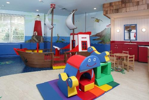 Grand Tier Childrens Playroom – Manhattan Apartments for rent