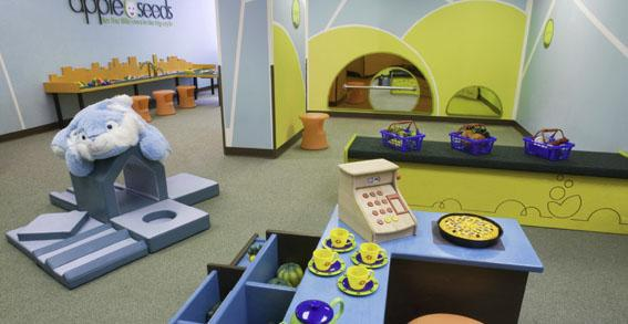 400 West 59th Street Children Playroom - NYC Rental Apartments