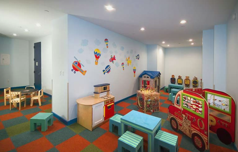 50 Murray Street Children Playroom - Manhattan Rental Apartments