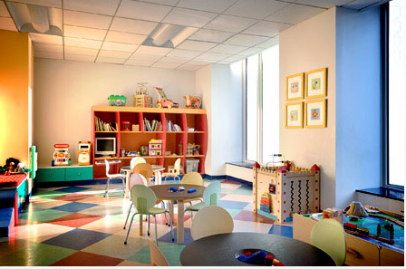 Tribeca Green Children's Playroom - Manhattan Apartments for rent