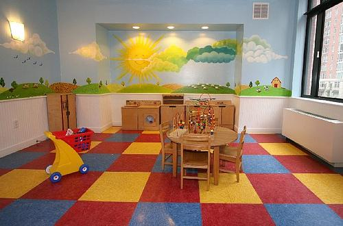 450 North End Avenue Children's Playroom - Battery Park City Rental Apartments