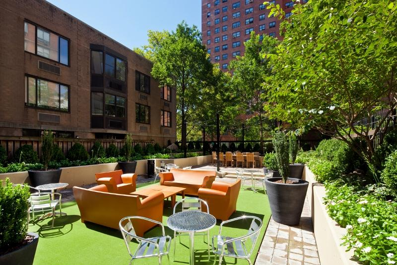 101 West 90th Street Courtyard - Upper West Side Rental Apartments
