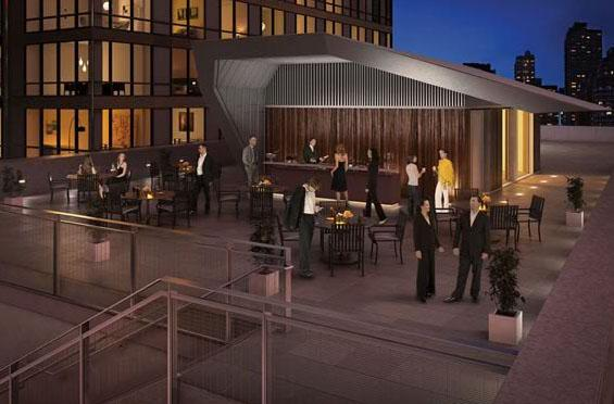 200 West 67th Street Event Deck – NYC Rental Apartments