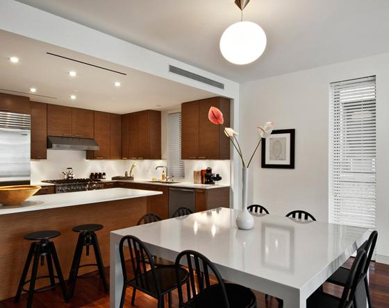 208 West 96th Street Dining Area - NYC Rental Apartments