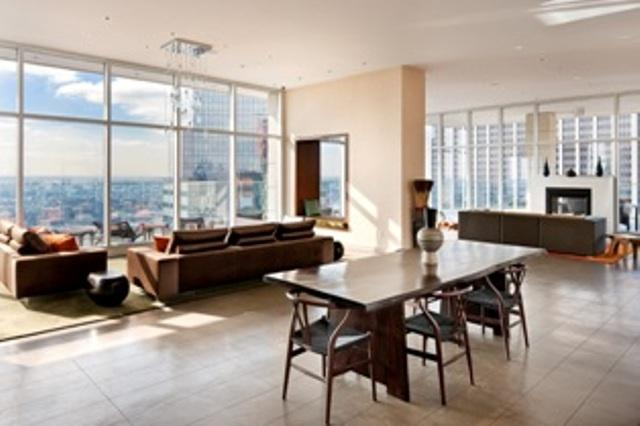 75 Wall Street apartments for rent Dining Area View