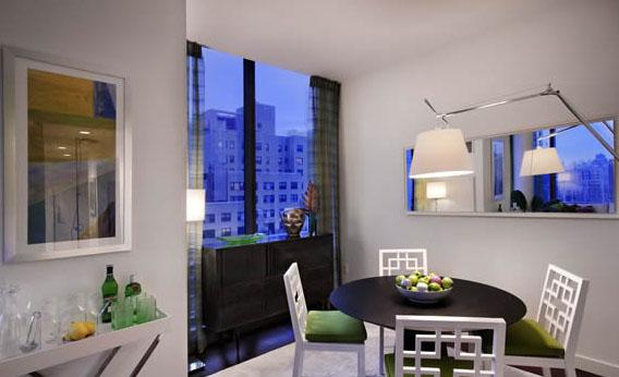 Dining Area of NYC Rental Apartments at 200 West 67th Street