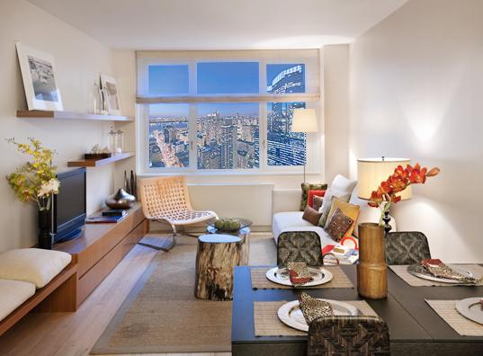 Rental Apartments at 322 West 57th Street Dining Area
