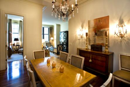 Dining Area at The Beekman Regent 351 East 51st Street Manhattan