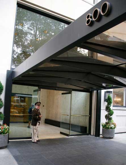 800 Fifth Avenue Entrance - Upper East Side Apartment Rentals