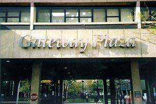 Gateway Plaza Entrance - Manhattan Apartments for rent