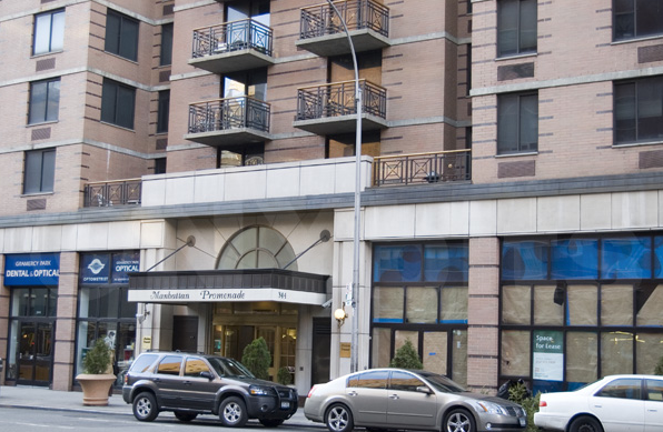 344 Third Avenue Entrance - Gramercy Park Rental Apartments