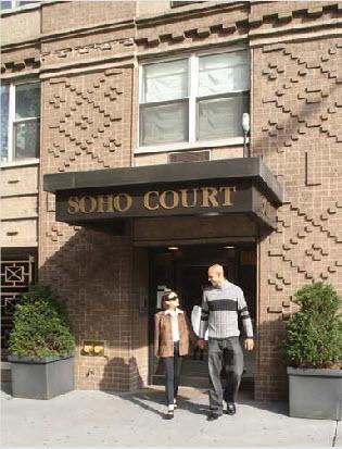 Soho Court Entrance - SoHo Apartment Rentals