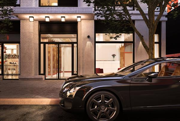 Ten23 Entrance – Chelsea Apartment Rentals