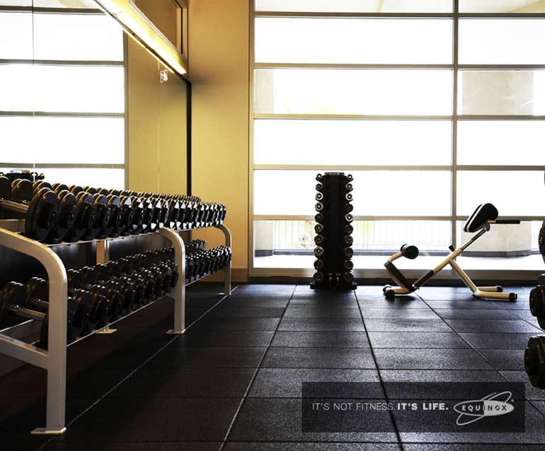 50 Murray Street Equinox Gym - Tribeca Apartment Rentals
