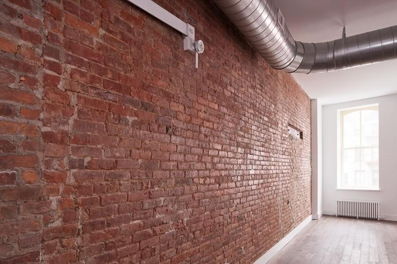 The Constable apartments Exposed Brick Wall