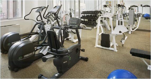 360 West 43rd Street Fitness Center - Manhattan Rental Apartments