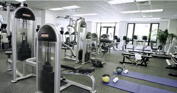 One Colubmus Place rental building Fitness Center - NYC Flats