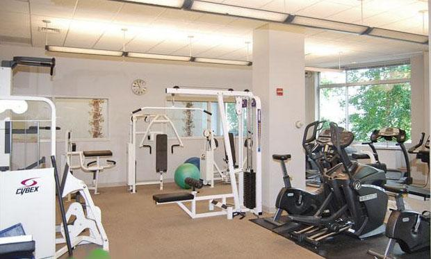 Tribeca Pointe Fitness Center - Tribeca Apartment Rentals