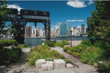 Garden at 46-15 Center Boulevard - Long Island City Luxury Rental Apartments