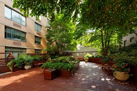 Garden at The Sagamore - 189 West 89th Street Manhattan rentals