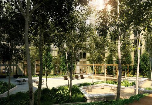 The Ashley Garden - 400 West 63rd Street apartments for rent
