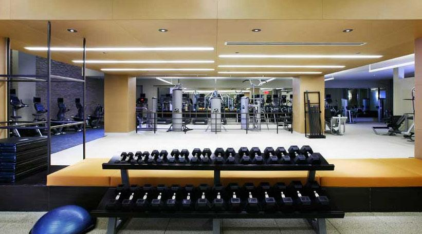 505 West 37th Street rental building Gym - NYC Flats