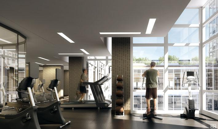 620 West 42nd Street Gym – NYC Rental Apartments