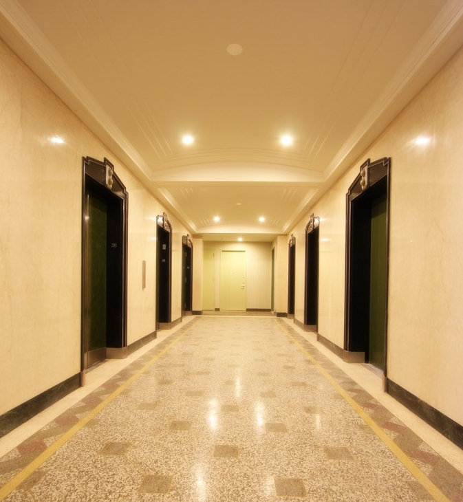 20 Exchange Place rental building Hallway - NYC Flats