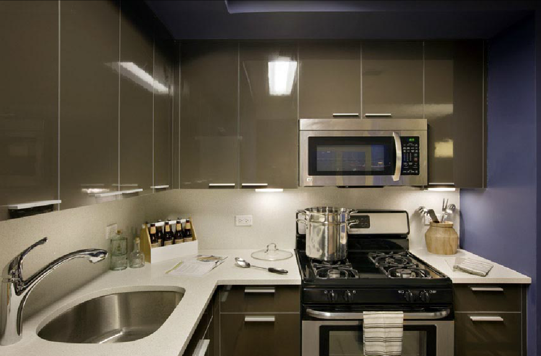 Kitchen - 41-18 Crescent Street - Long Island City Apartments