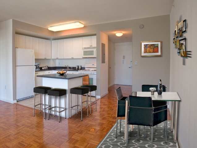 Kitchen and Dining Area - Avalon Riverview - Long Island City Rental Apartments
