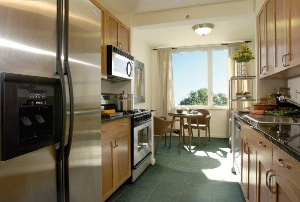 The Solaire apartments for rent Kitchen