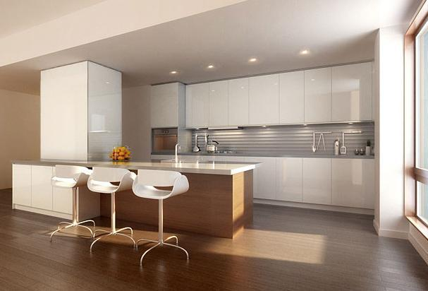 Kitchen at Living Room at 290 Mulberry Street - Apartments for rent, NYC