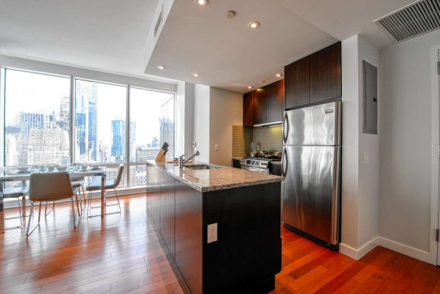 Kitchen of Icon - 306 West 48th Street - Clinton Luxury Apartments