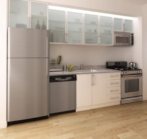 37 Wall Street rental building Kitchen -  NYC Flats