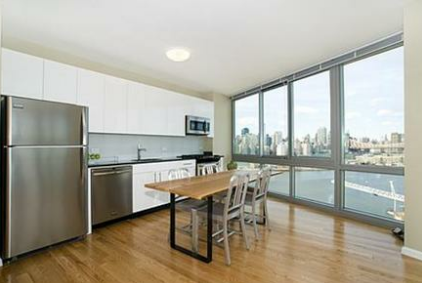 Kitchen and Dining Space at 47-20 Center Boulevard - LIC Rentals