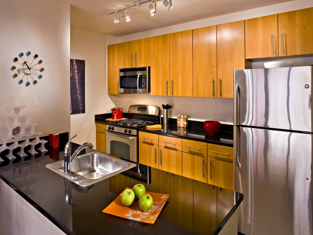 Kitchen of Avalon Riverview North - LIC Rentals