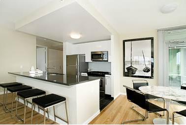 Living Room - 46-15 Center Boulevard - Long Island City Apartments