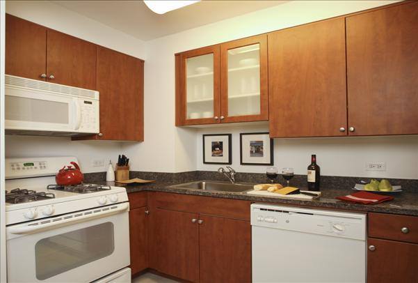 600 Washington Kitchen - NYC Rental Apartments