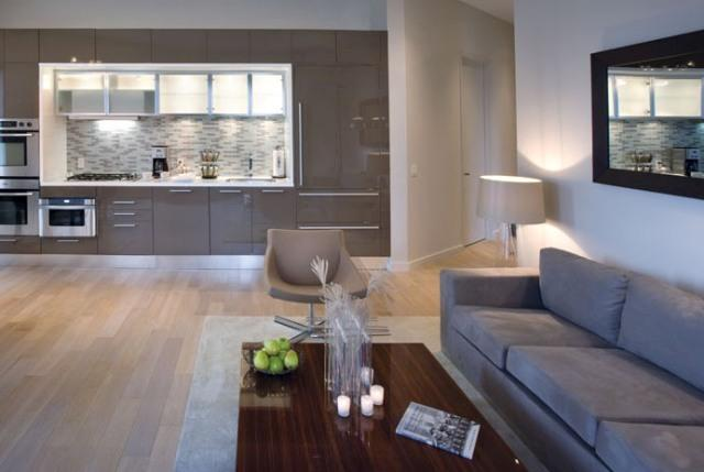 Rental Apartments at 75 Wall Street Kitchen