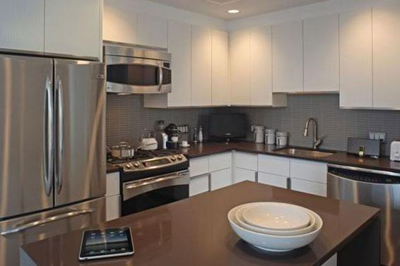 Kitchen at AIRE 200 West 67th Street New York
