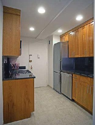 101 West 55th Street Kitchen - NYC Rental Apartments
