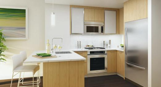 Liberty Luxe apartments Kitchen