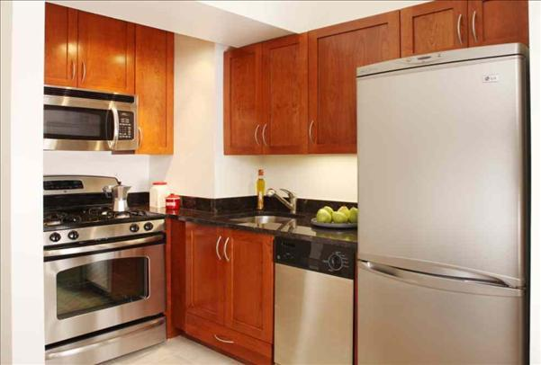 Parc 77 Kitchen - Manhattan Rental Apartments