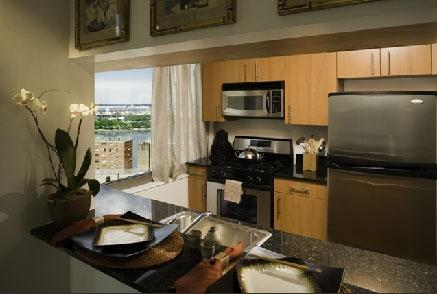 River East apartments for rent Kitchen
