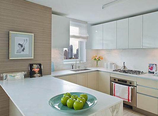 Kitchen view of Apartment Rentals - The Sheffield