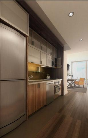 Silver Towers rental building Kitchen - NYC Flats